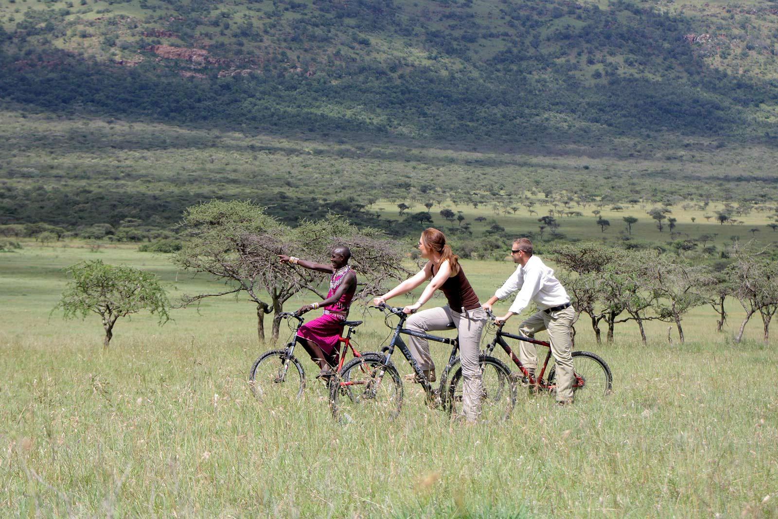 Biking Safari In Kenya